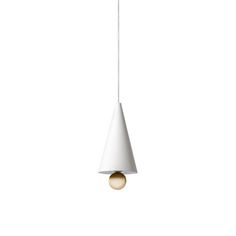 suspension cherry petite blanc petite friture comptoir des lustres. Black Bedroom Furniture Sets. Home Design Ideas