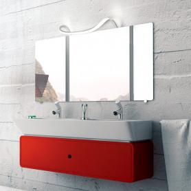 Applique de salle de bain LED Sisley 41 cm