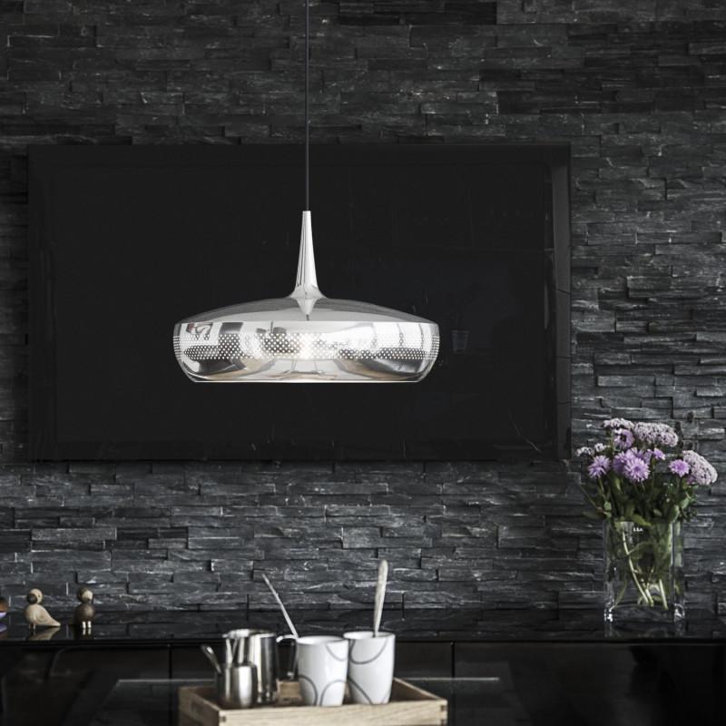 abat jour clava dine acier poli umage vita copenhagen comptoir des lustres. Black Bedroom Furniture Sets. Home Design Ideas