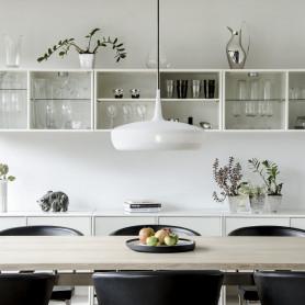 Abat-jour Clava Dine Blanc mat