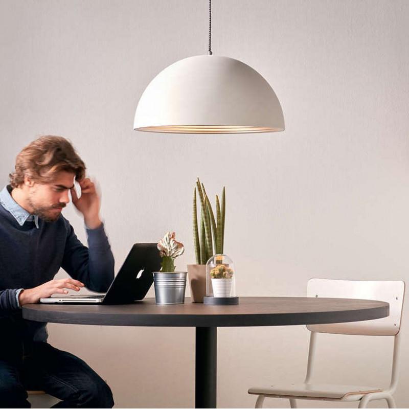 suspension breton blanc philips comptoir des lustres. Black Bedroom Furniture Sets. Home Design Ideas