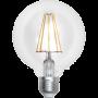 Ampoule LED à filament Globe 8 W