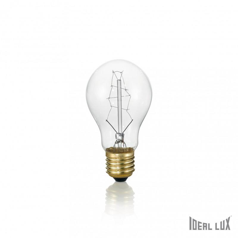 ampoule filament claire 25w e27 ideal lux comptoir des lustres. Black Bedroom Furniture Sets. Home Design Ideas