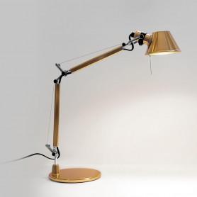 Lampe de bureau Tolomeo Micro Or