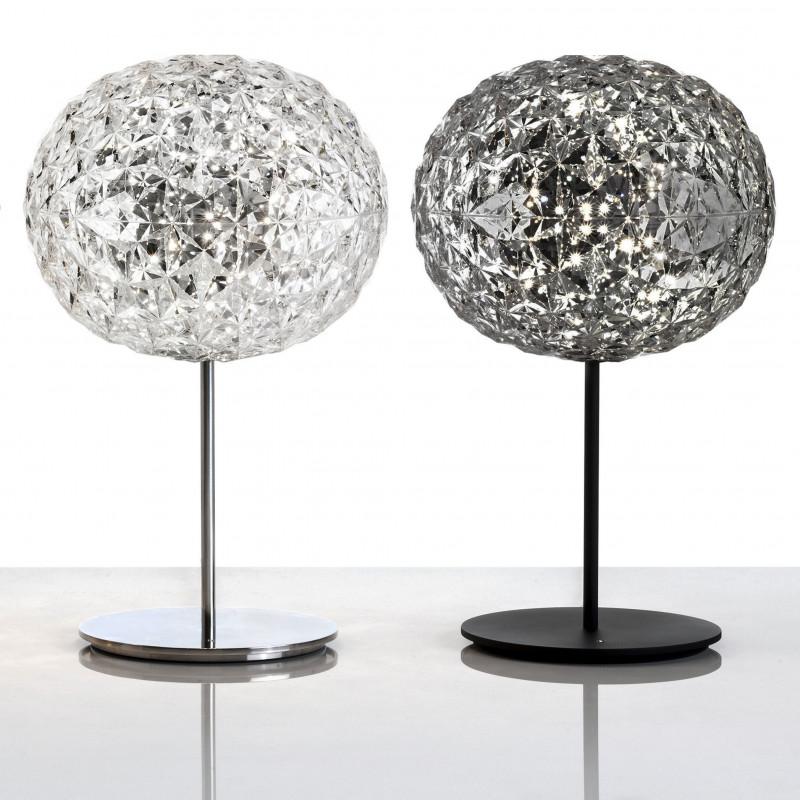lampe sur pied planet 2 coloris kartell comptoir des lustres. Black Bedroom Furniture Sets. Home Design Ideas