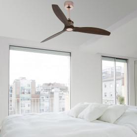 Ventilateur Just Fan Cuivre/Bois