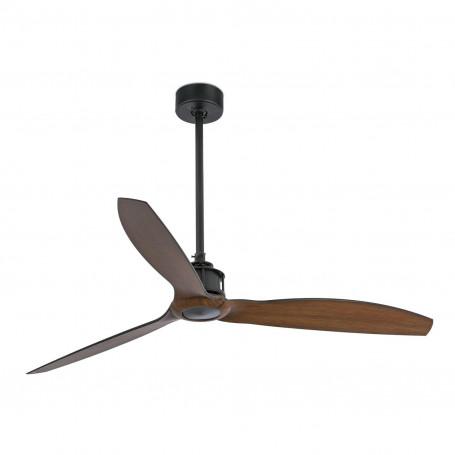 Ventilateur Just Fan Noir/Bois