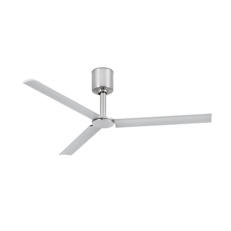 Ventilateur  de plafond Tao Nickel mat - Faro