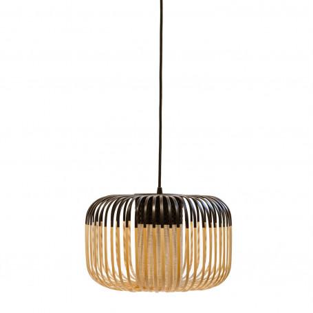 Suspension Bamboo Light S Noir