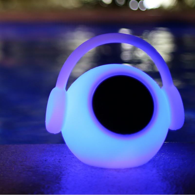 Lampe LED Haut-parleur connectée Wazowsky - Mantra