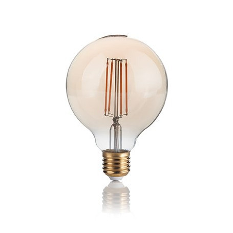 Ampoule LED à filament Globe 4 W Ambrée