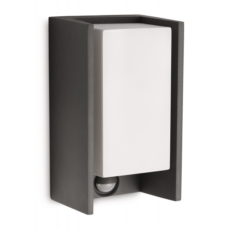 Applique d 39 ext rieur avec d tecteur bridge philips for Luminaire exterieur philips