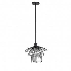 Suspension Papillon XS 30cm Noir