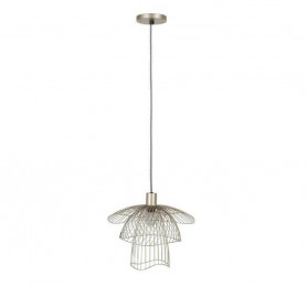 Suspension Papillon XS 30cm Champagne