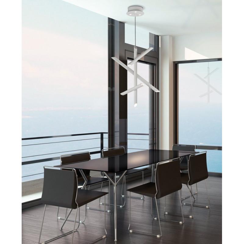 suspension led dimmable take mantra comptoir des lustres. Black Bedroom Furniture Sets. Home Design Ideas