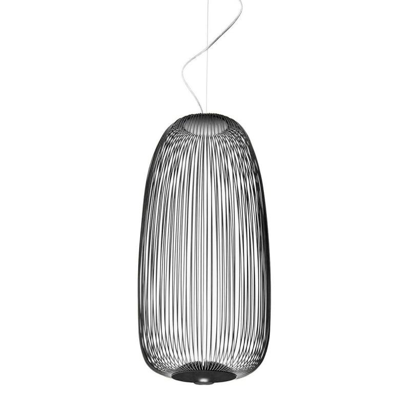 Suspension LED Spokes 1 Graphite - Foscarini