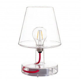 Lampe nomade LED Transloetje Transparent