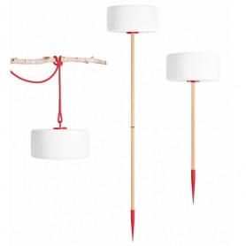 Luminaire nomade LED Thierry le Swinger Rouge