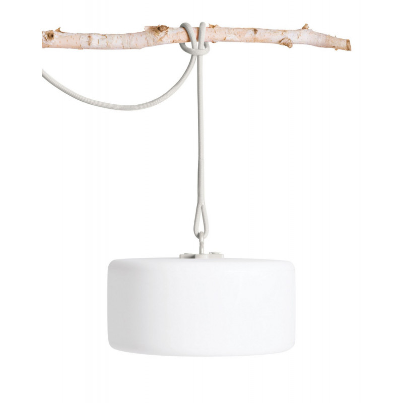 Luminaire nomade LED Thierry le Swinger Gris clair - Fatboy