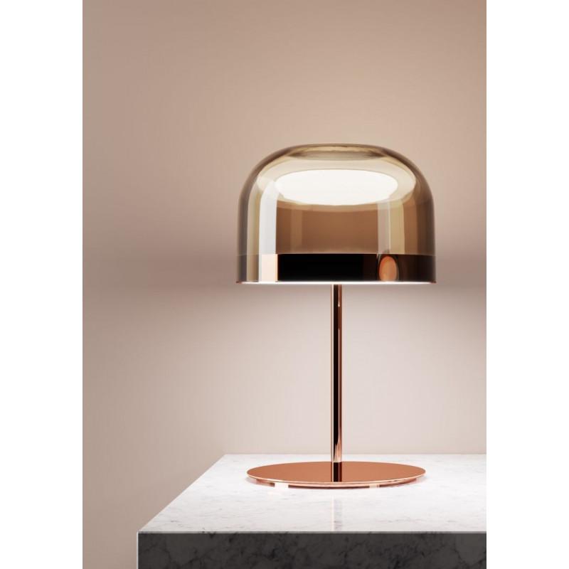 Lampe LED Equatore Cuivre/Rose - Fontana Arte
