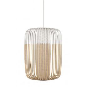 Suspension Bamboo Light L Blanc