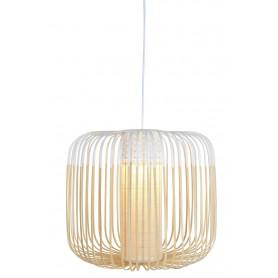 Suspension Bamboo Light M Blanc