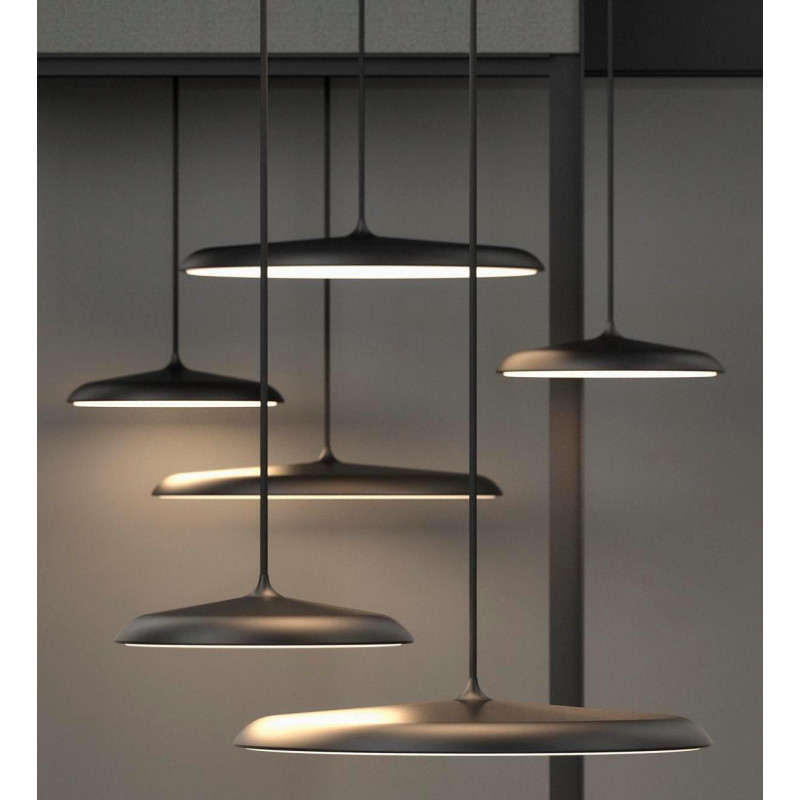 Suspension LED Artist 40 cm Noir - Nordlux