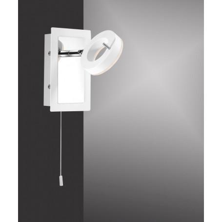 Applique de salle de bain Sileda LED