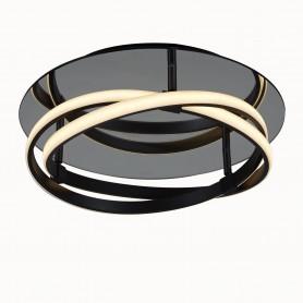 Plafonnier LED Infinity Brun 40cm