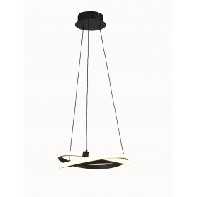 Suspension LED Infinity Brun 40cm