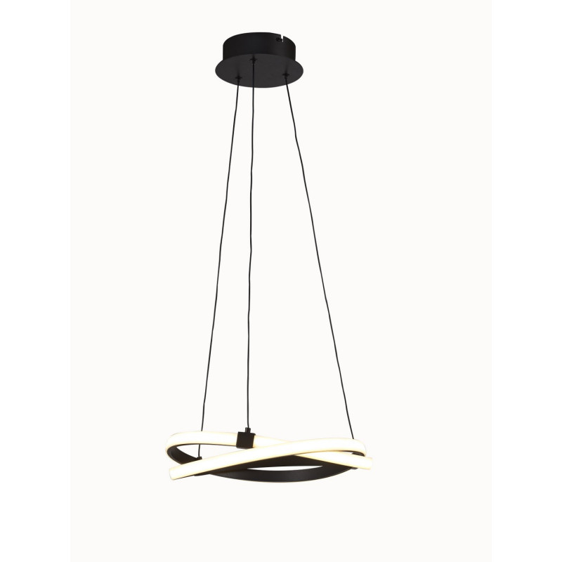 Suspension LED Infinity Brun 40cm - Mantra