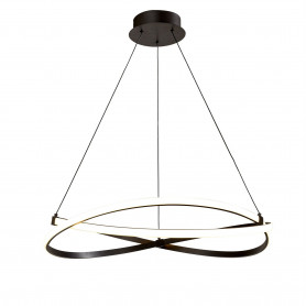 Suspension LED Infinity Brun 50cm