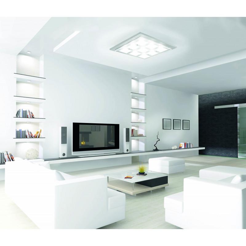 Plafonnier 9 lampes gamme Domino LED - Grossmann