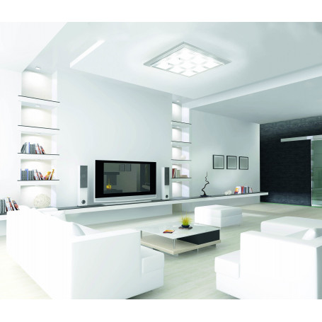 Plafonnier 9 lampes gamme Domino LED