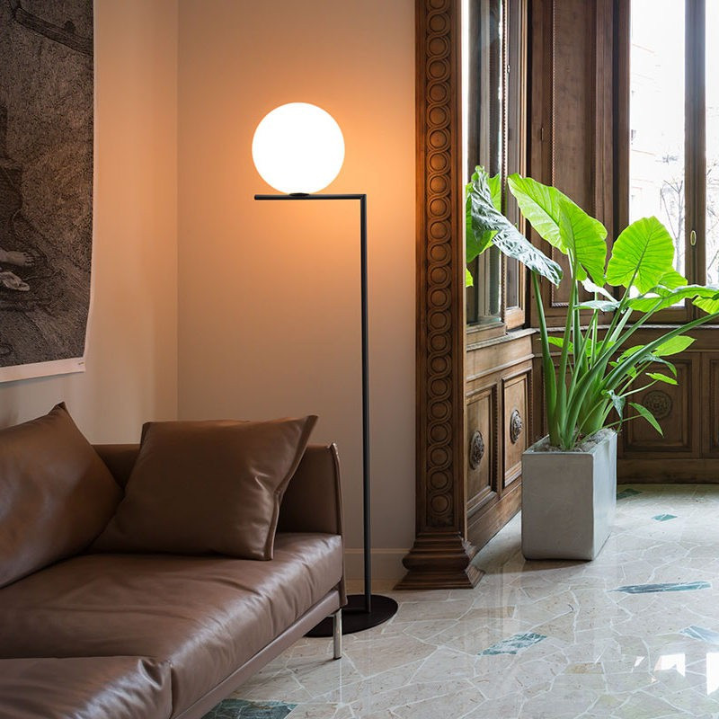 Lampadaire IC Lights F2 Noir - Flos