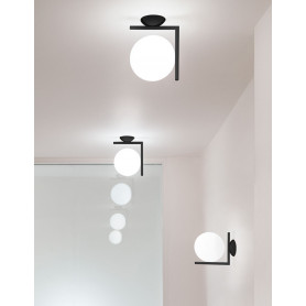 Applique/Plafonnier IC Lights C/W1 Noir