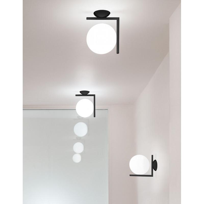 Applique IC Lights C/W1 Noir - Flos