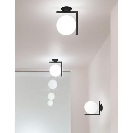 Applique/Plafonnier IC Lights C/W1 Noir