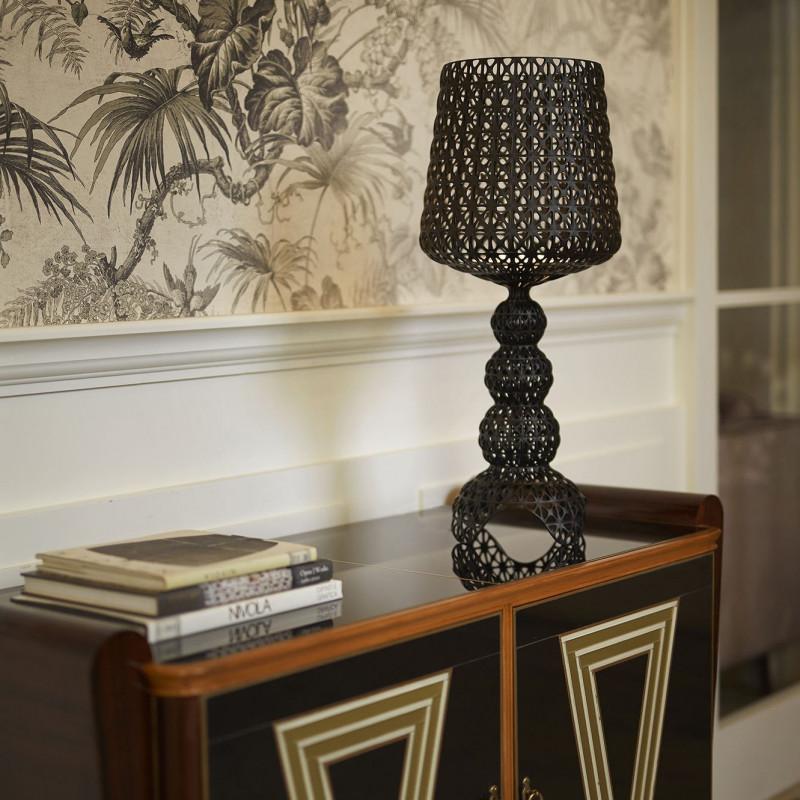 Lampe LED Mini Kabuki Noir - Kartell