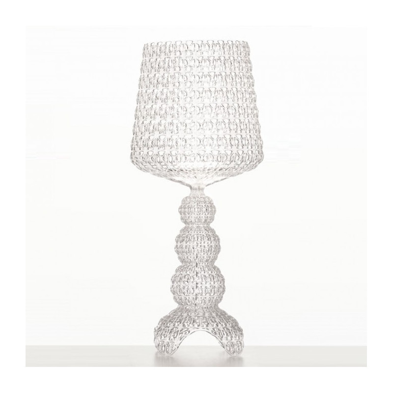 Lampe LED Mini Kabuki Cristal - Kartell