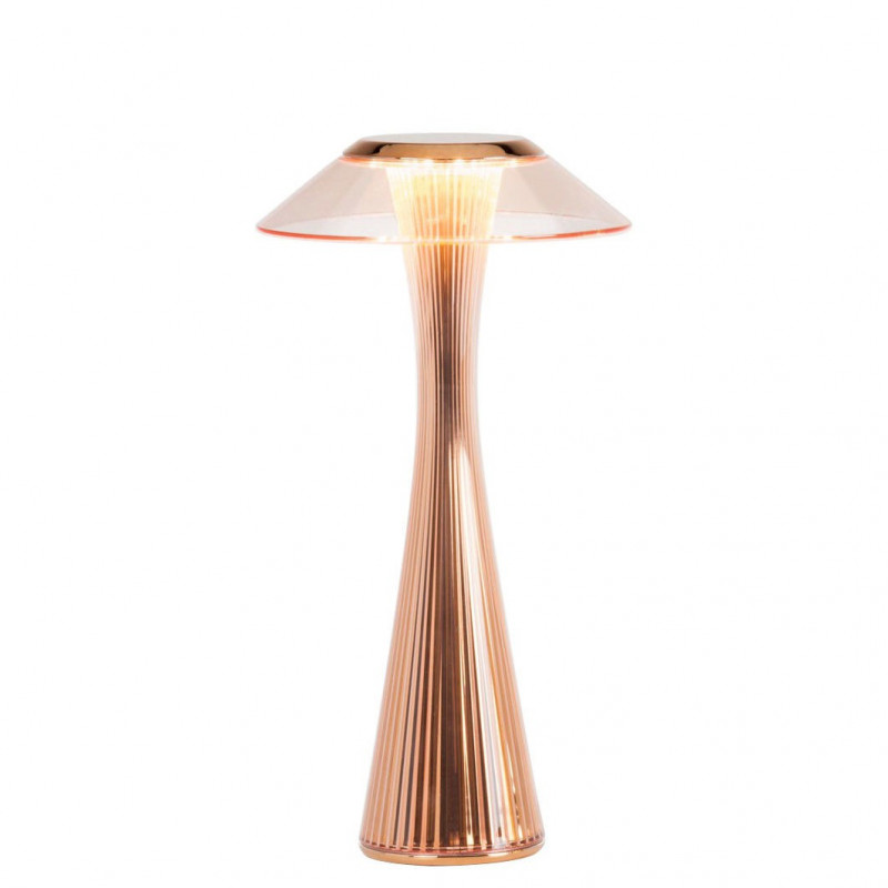 Lampe rechargeable Space Cuivre - Kartell