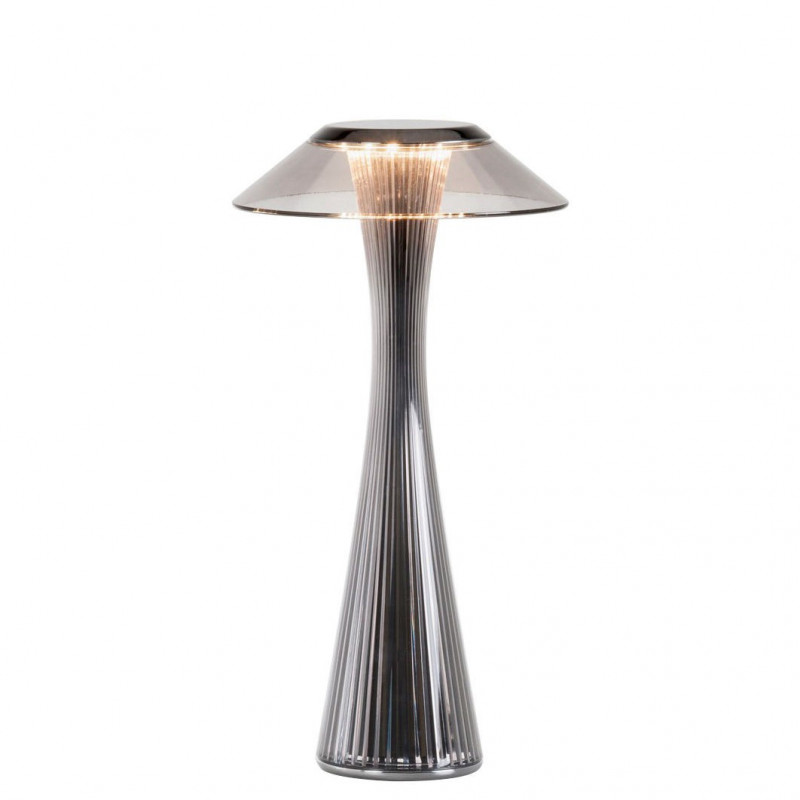 Lampe rechargeable Space Titane - Kartell