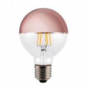 Ampoule LED Globe Calotte cuivre 6 W