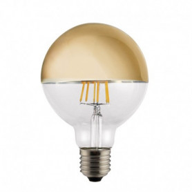 Ampoule LED Globe Calotte or 6 W