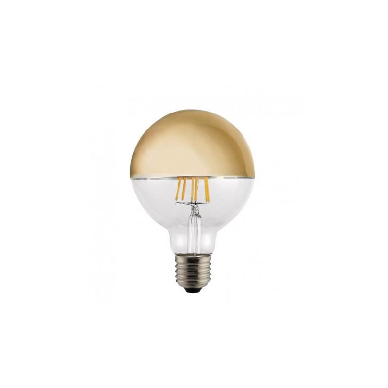 Ampoule LED Globe Calotte or 6 W - CristalRecord