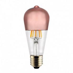 Ampoule LED Edison Calotte cuivre 6 W