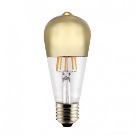 Ampoule LED Edison Calotte or 6 W