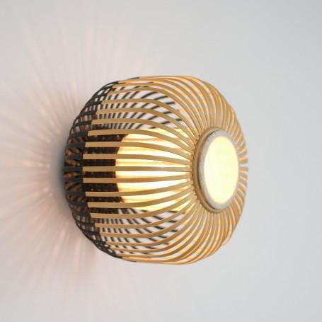 Applique Bamboo Light S Noir
