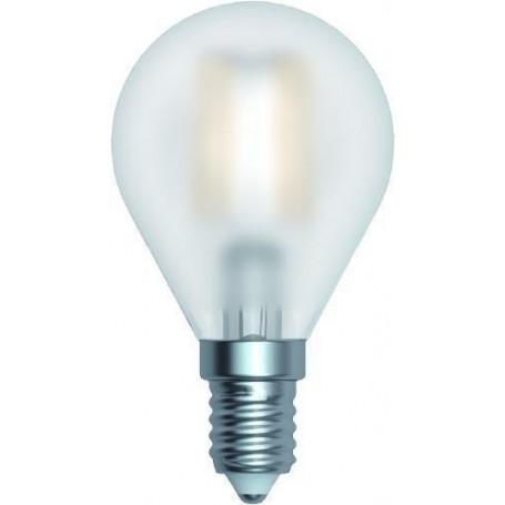 Ampoule LED Sphérique Satinée E14