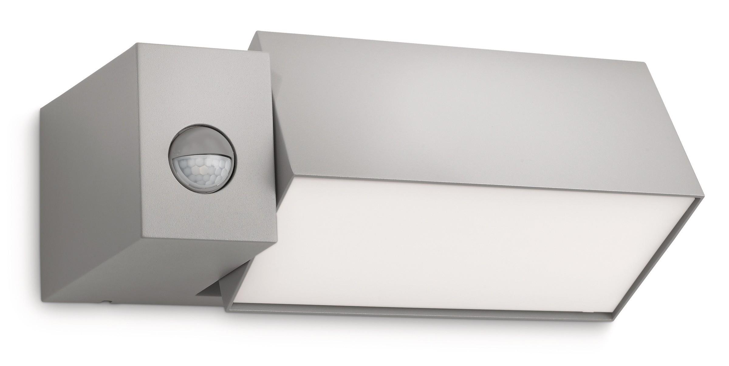 Applique d extérieur avec détecteur border philips comptoir
